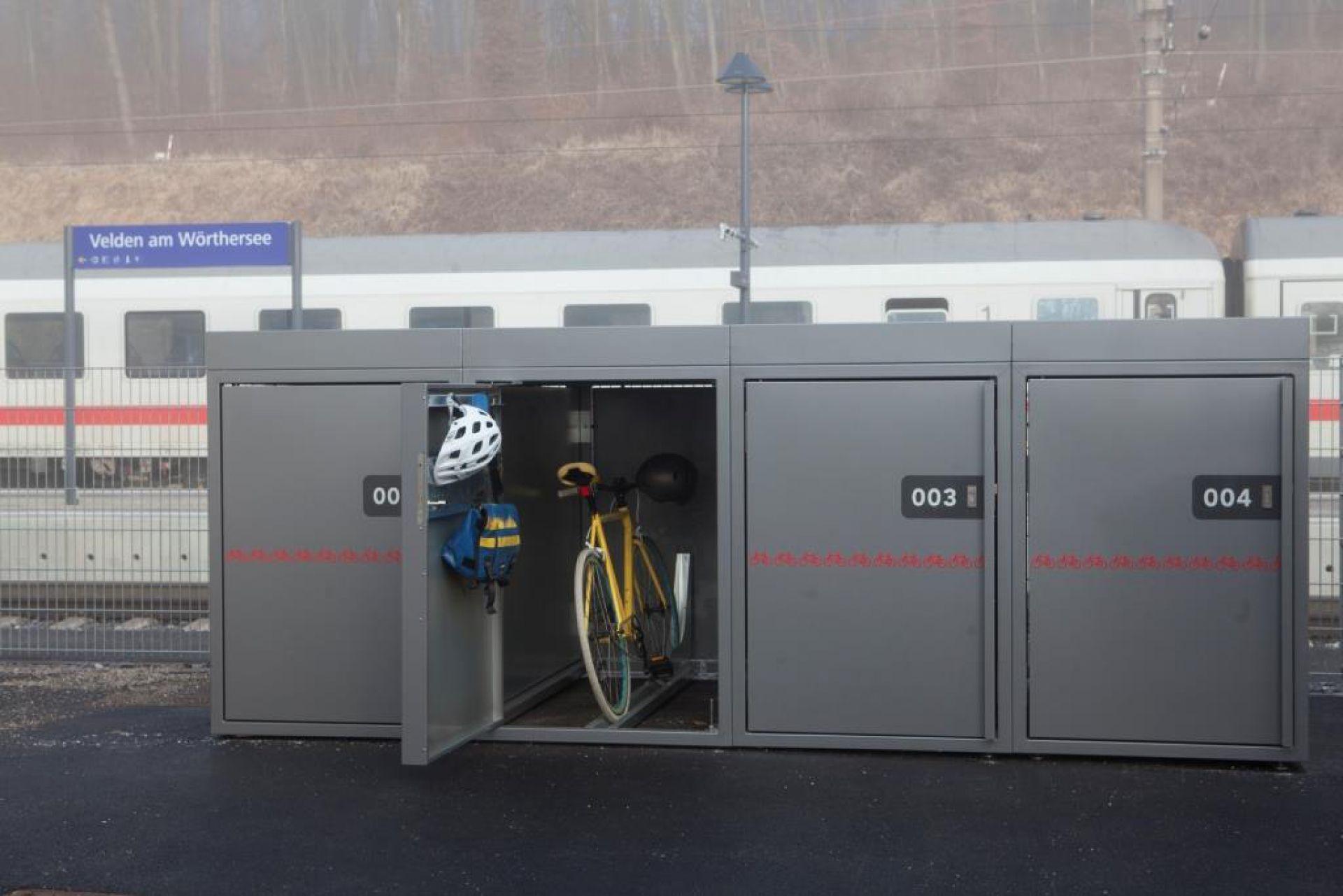 Radbox Kärnten VCÖ Vorbildhafte Mobilitätsprojekte