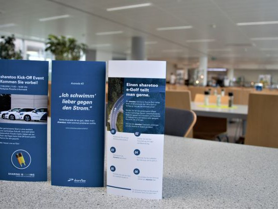 Corporate E-Carsharing von sharetoo mobility by Porsche Bank