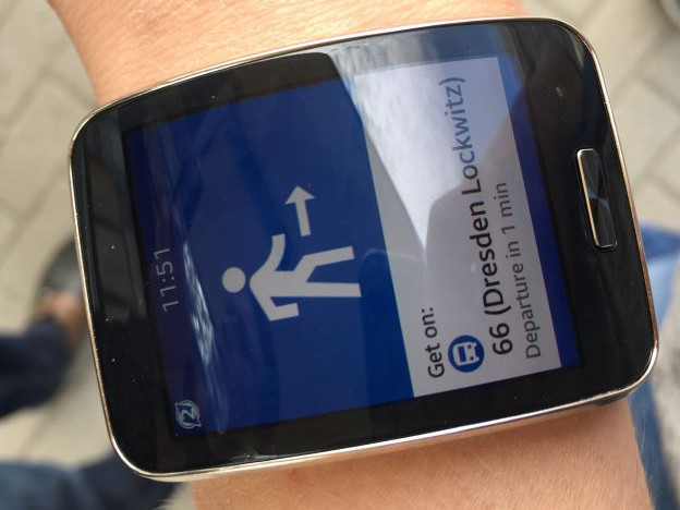 Guide2Wear - Mobil mit Wearable Devices