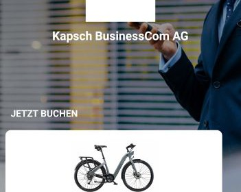 POOL eBikes bei Kapsch BusinessCom